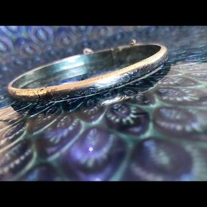 .925 Sterling Silver Bangle Bracelet